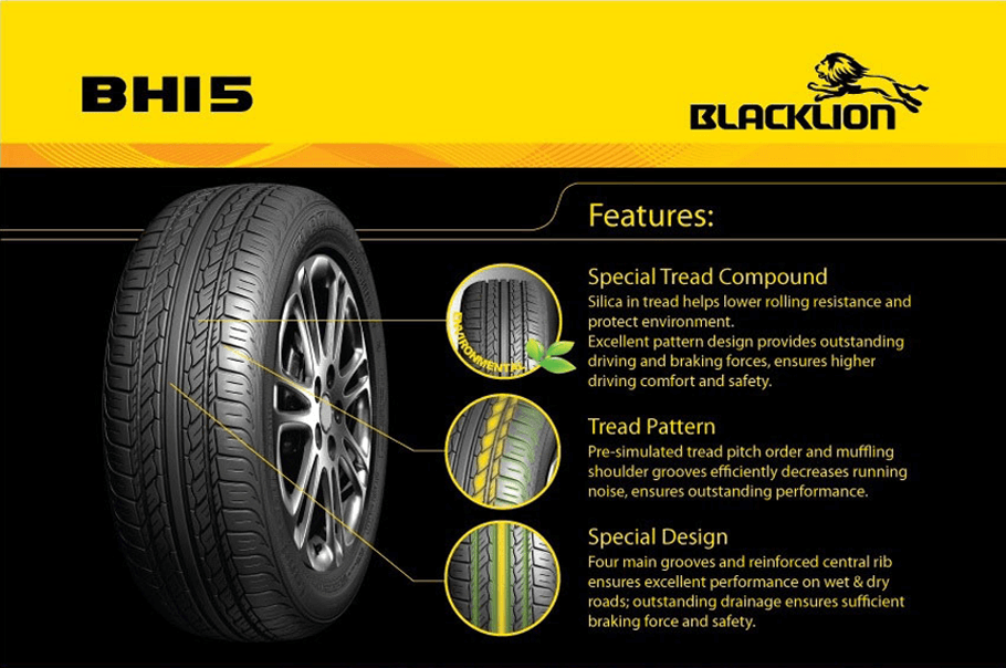car tyres with silica compound